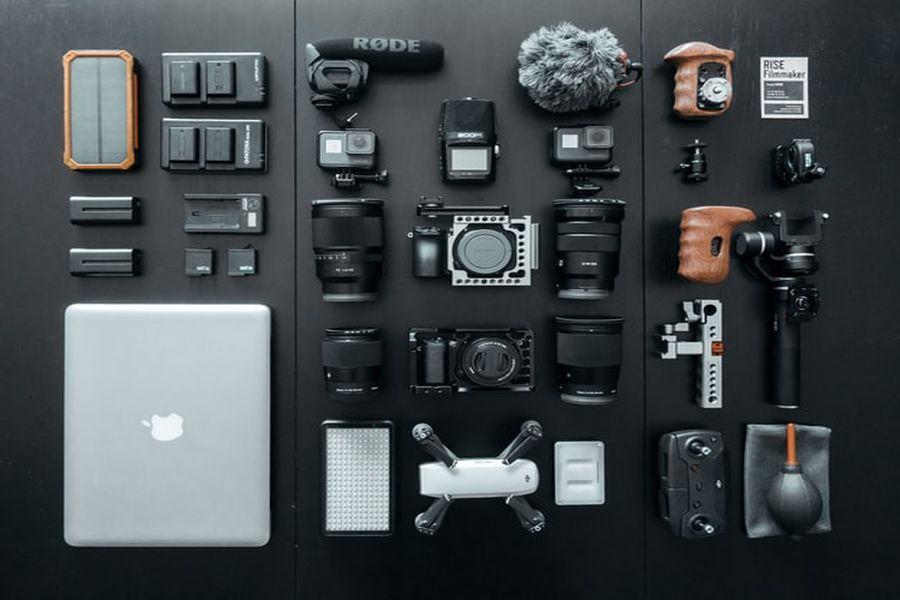 Various camera accessories