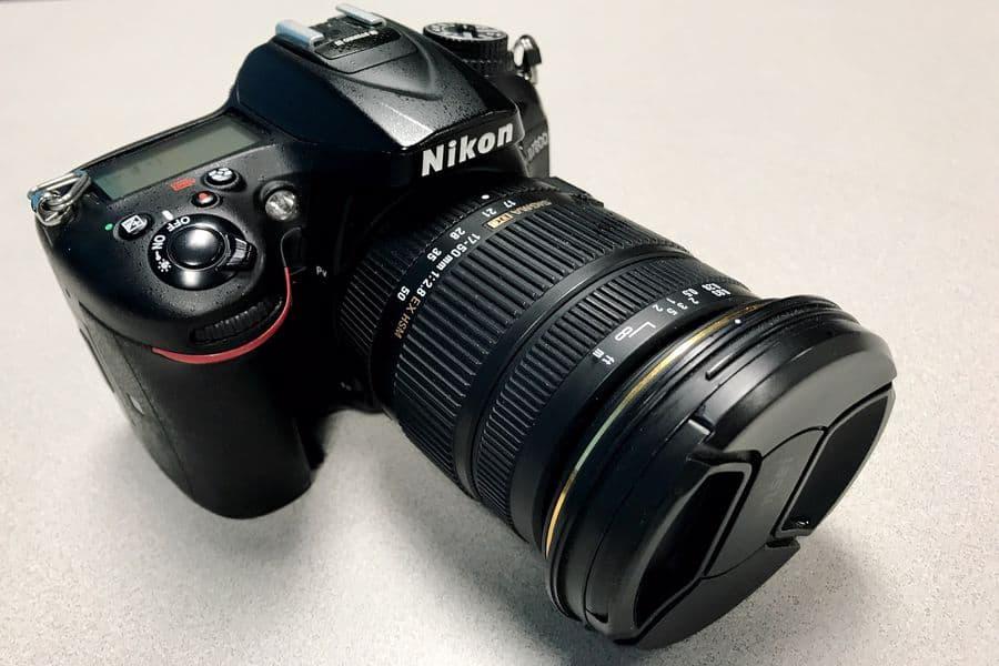 Camera lens for Nikon D7200