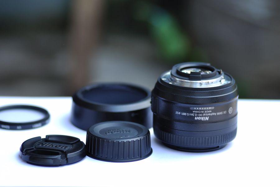 Nikon D850 camera lens