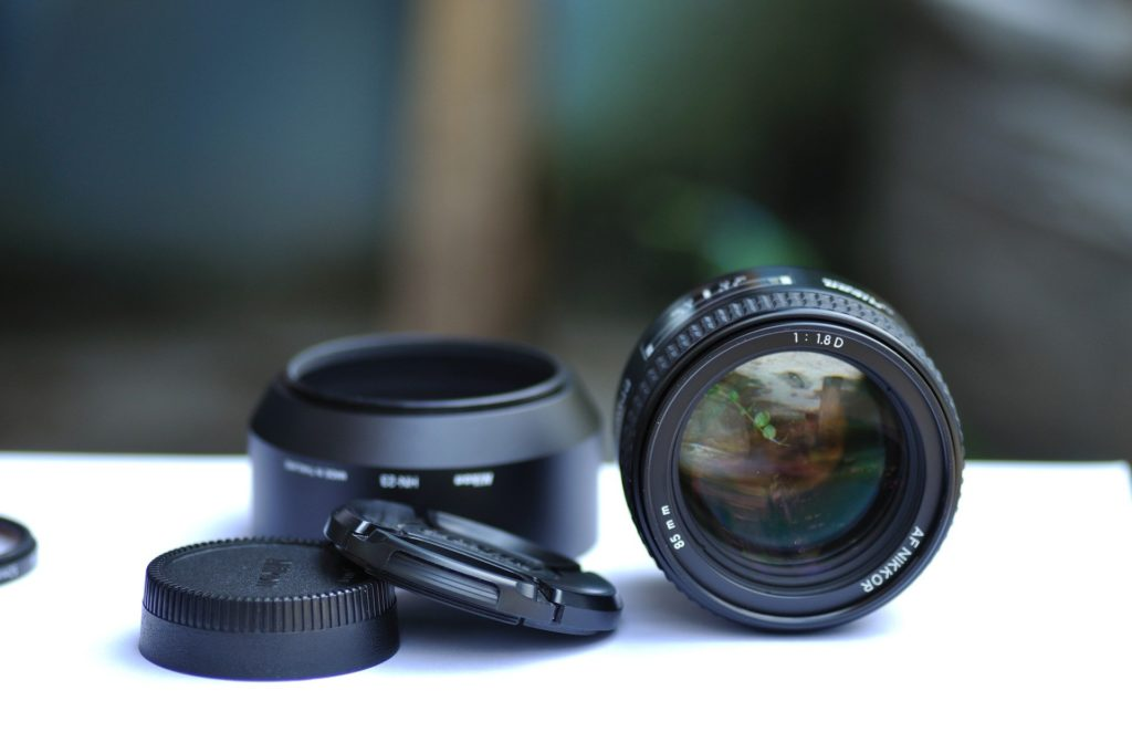 Camera lenses for architectural photography