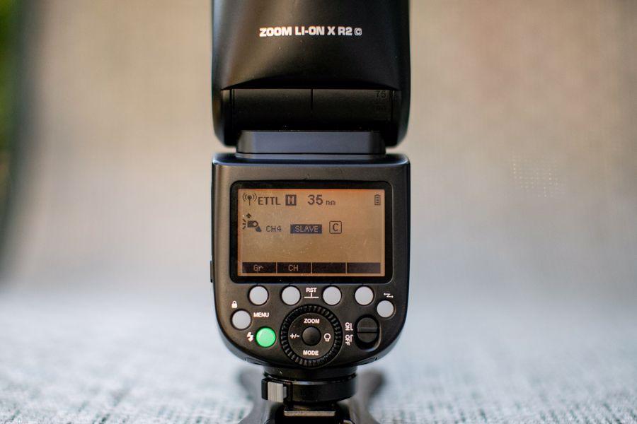 Third party camera flash