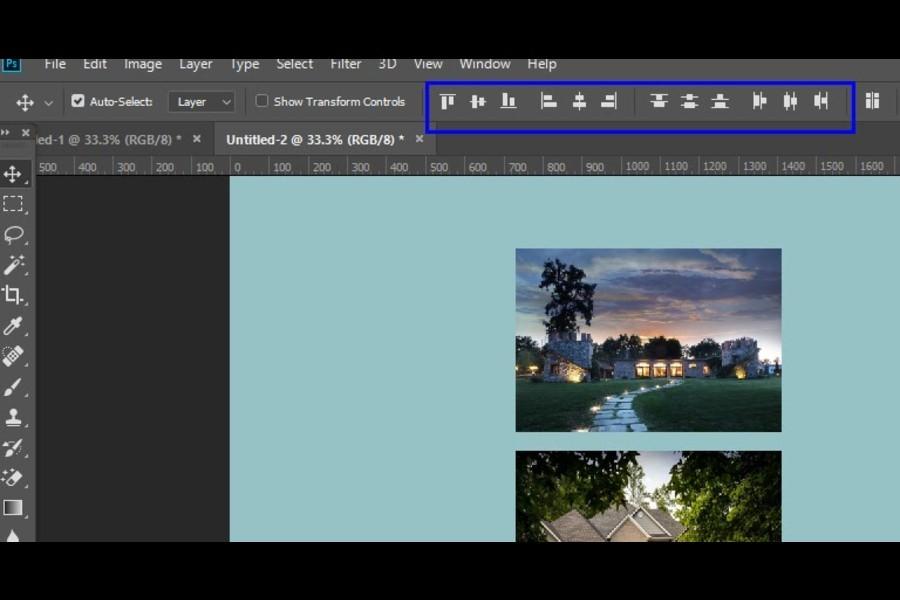 Move Tool Option Icons