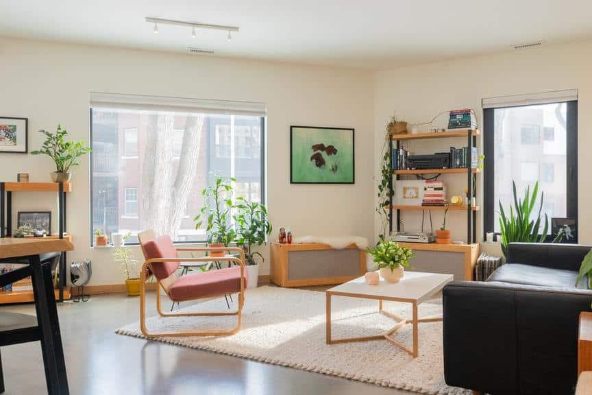Shot of second floor living area