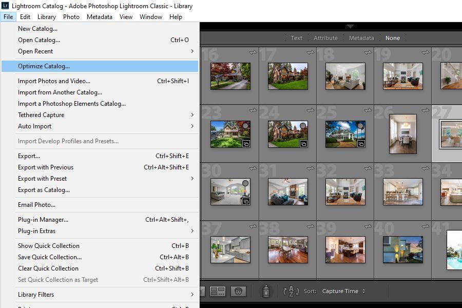Optimizing Lightroom Catalog Settings