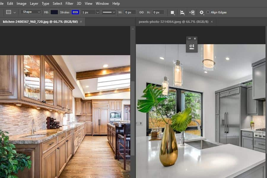 Using the Move Tool on a multi-document layout