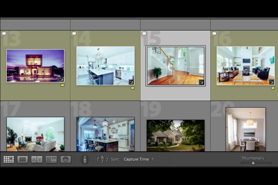 Categorizing photos in Lightroom using color labels