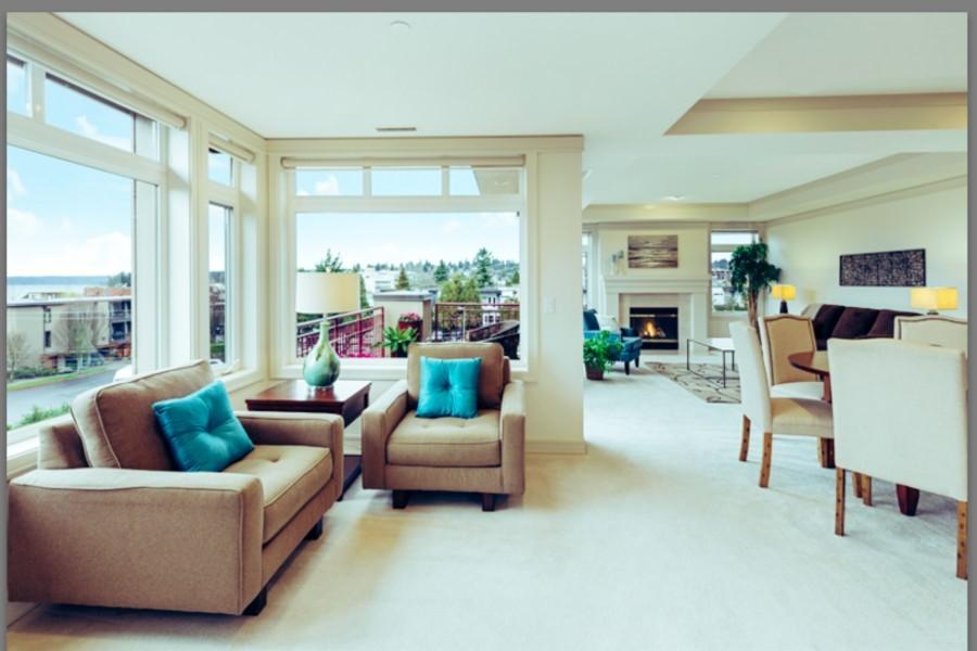 Removing ceiling lighting in living room